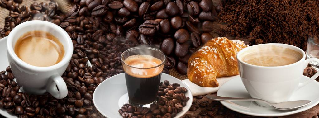coffee with morning pastries