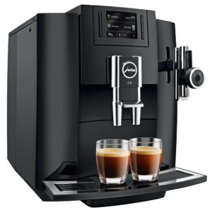 1st in Coffee Refurbished Jura E8 Black
