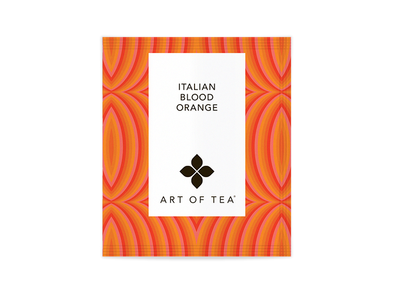 Italian Blood Orange Eco Pyramid Teabags - Bulk Packed